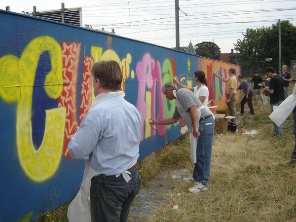 شركة الكتابة على الجدران نزهة Rabobank (2005)