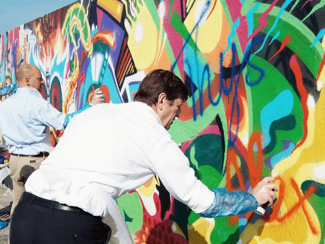 expérience de graffiti