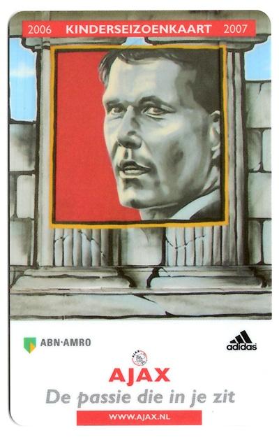Ajax kinderseizoenkaart 2006/2007