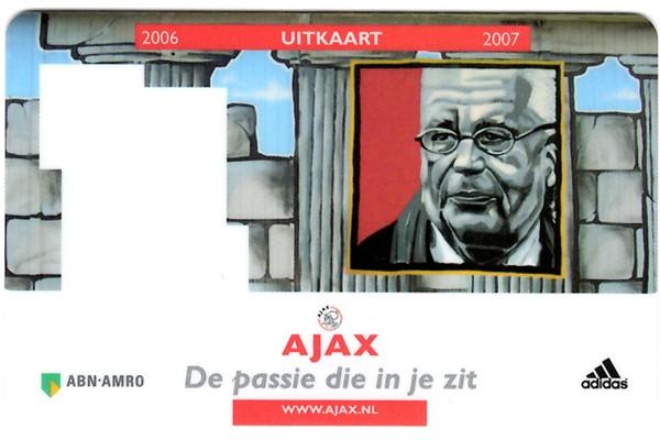 Ajax away card 2006/2007