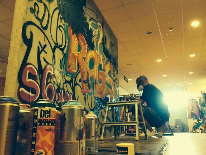 Graffiti: stoer, creatief en vernieuwend