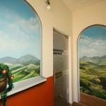 Peinture murale trompe-l'oeil