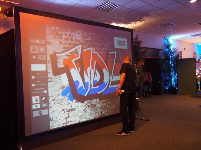 Graffiti wall VDL