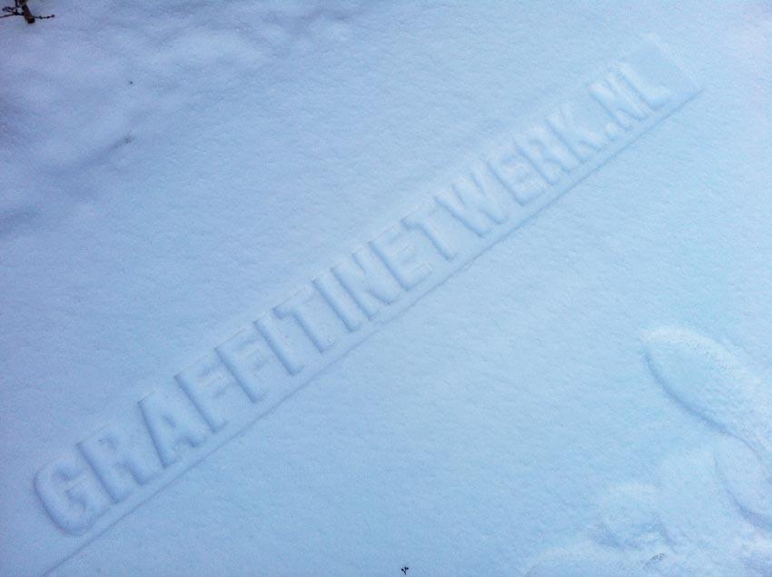 sneeuw-reclame