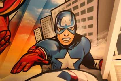superhelden-kinderkamer