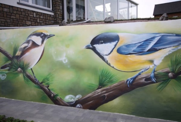 Graffitischildering
