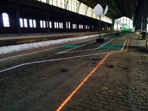 Chalk lines Flanders