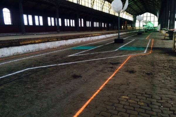 Líneas de tiza Flandes