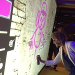 Digitale graffiti als creatief entertainment in Rotterdam