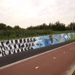 Anti graffiti project in Amstelveen