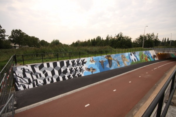 Anti graffiti project in Amstelveen