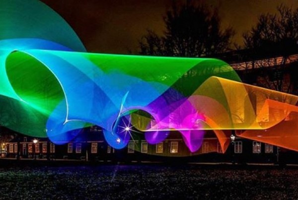 Light-painting Canon