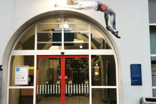 WK Atletiek – Station Lelylaan
