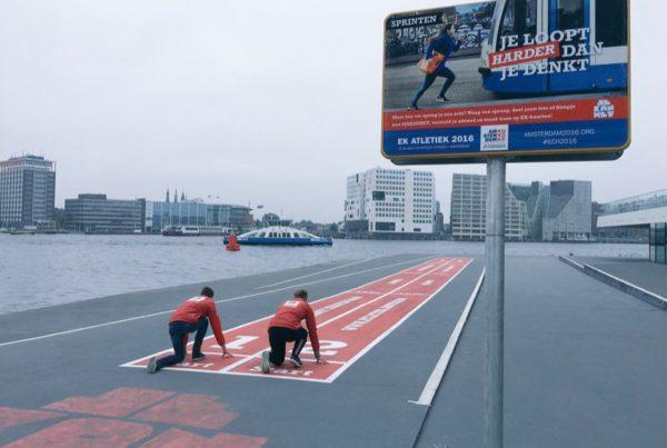 WK Atletiek – Sprintbanen
