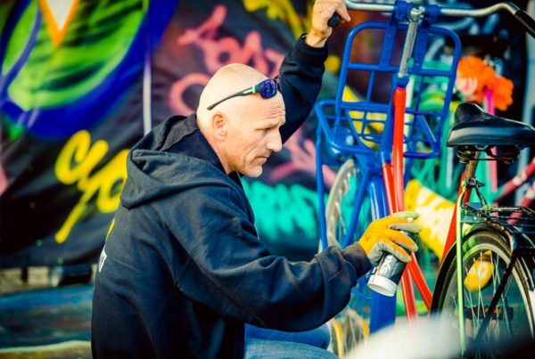 Breau voor Reuring graffiti demonstratie workshop