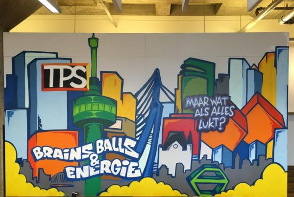 TPS Group wall painting
