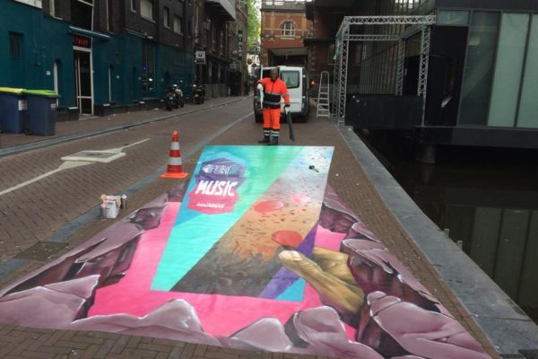 FunX Awards 3d streetpainting