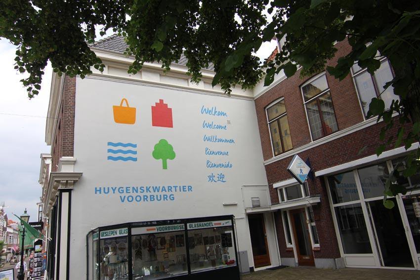 Gemeente Voorburg muurschildering