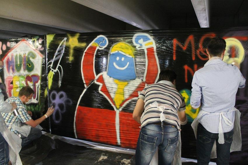 Bol graffiti workshop