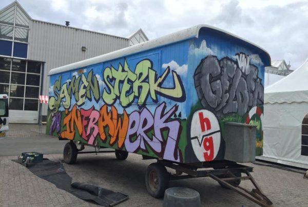 Van Gelder spray painting workshop