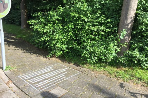 IJsselstein chalk expressions campaign
