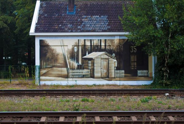 Municipality of Baarn wall painting