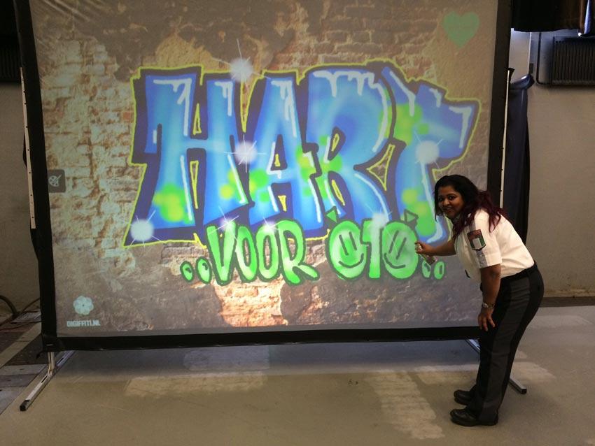 Gemeente Rotterdam digitale graffiti