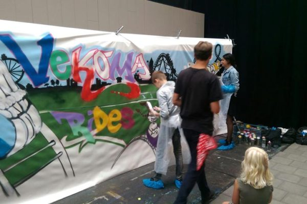 Vekoma graffiti workshop