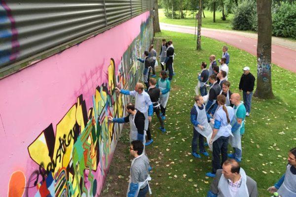 Altran graffiti workshop