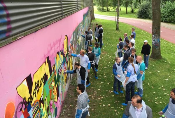 Altran graffiti workshop