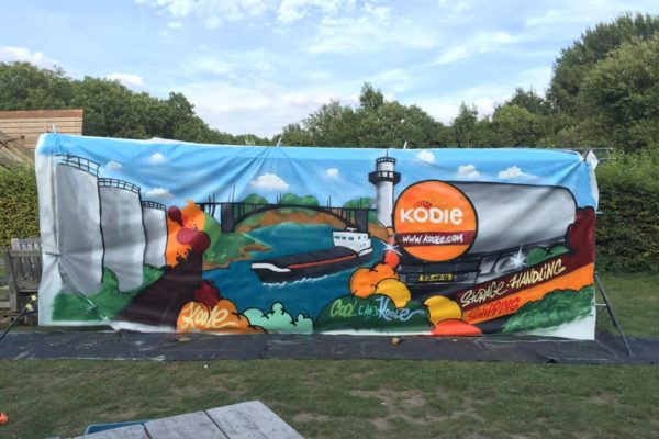 Koole graffiti workshop