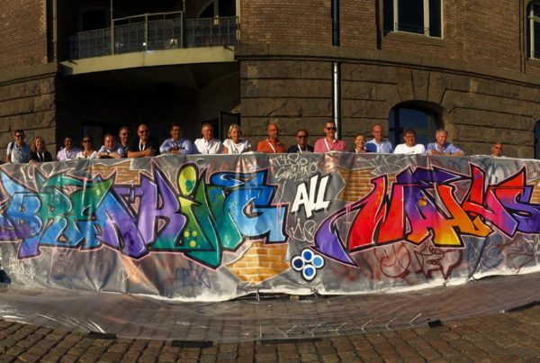 TCS graffiti workshop demonstratie