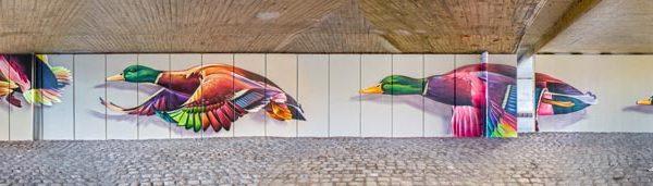 Municipio di Schiedam murale