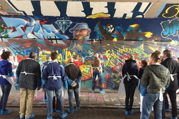 Belastingdienst graffitiworkshop