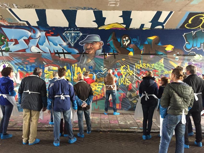 Belastingdienst graffitiworkshop