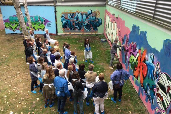 Gemeente Den Bosch graffiti workshop