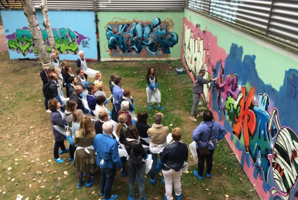 Gemeente Den Bosch graffiti workshop