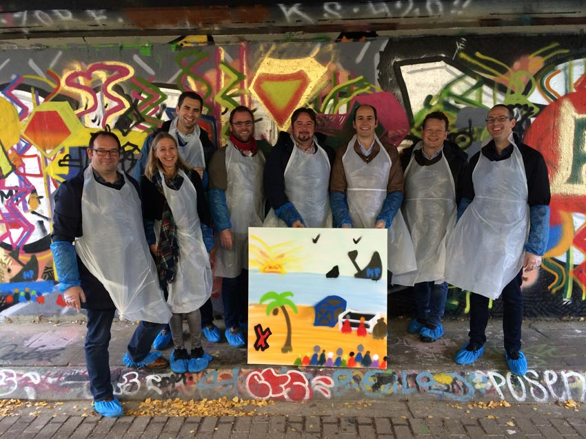 Xeikon graffiti workshop