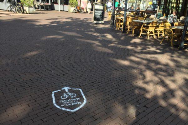 Municipality of Zaandam chalk expressions