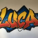 Wall painting Luca