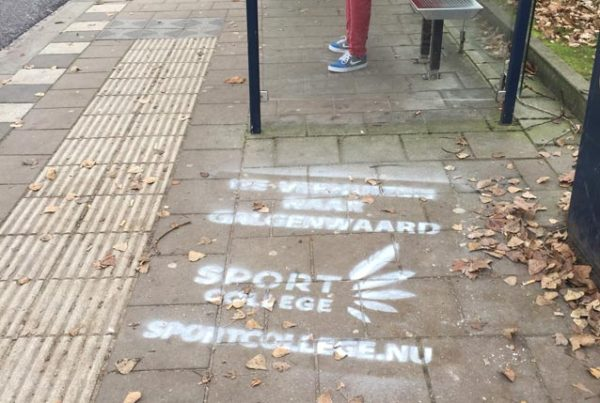 ROC Utrecht street advertising