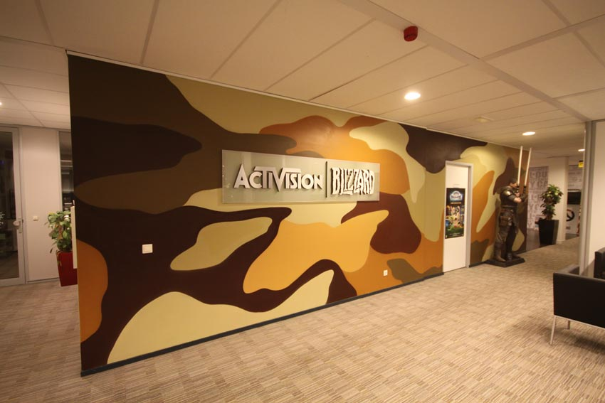 Activision muurschildering