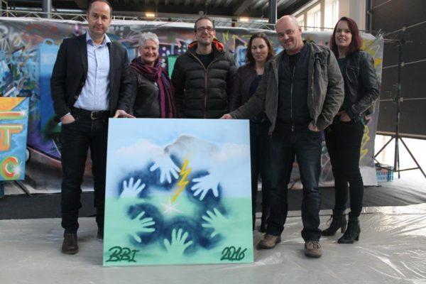Van der Heide graffitiworkshop
