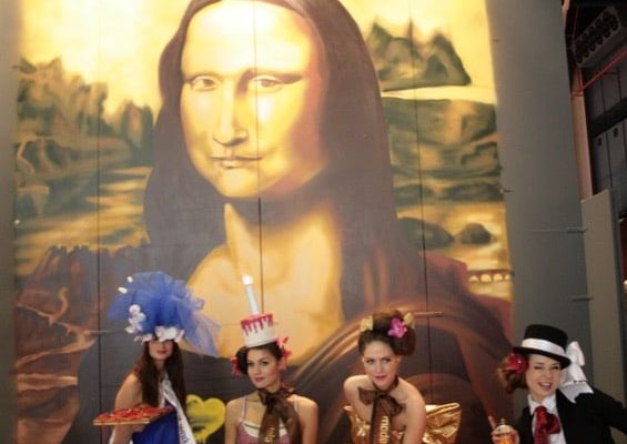 La Mona Lisa durante el evento 2008.