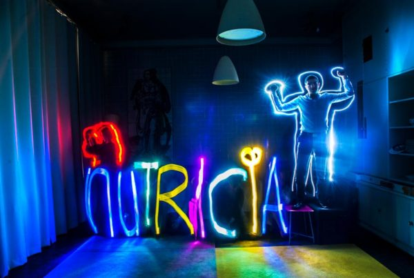 Light painting Nutricia