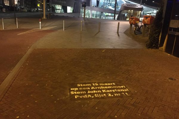Propaganda da rua de PvdA
