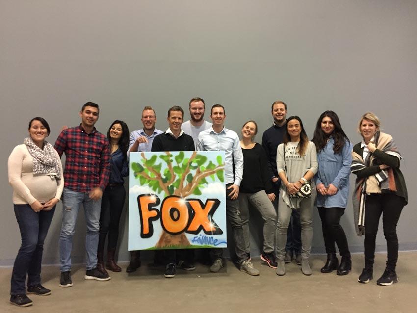 Street-art workshop Fox