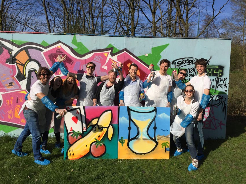 Graffiti-workshop Utrecht