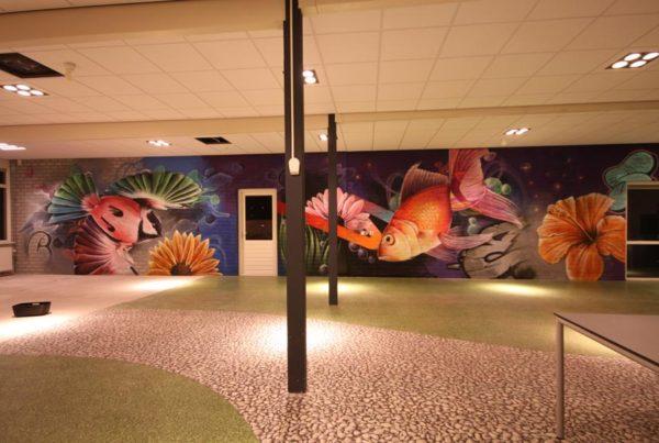 Painting Clusius College Heerhugowaard