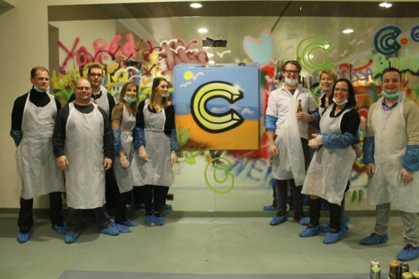 Graffiti workshop C-HOTELS